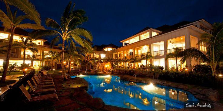 Resort with Pool in Poipu Kauai.  Hotel for trip?