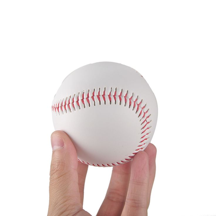 """9"""" Handmade Baseballs PVC Upper Rubber Inner Soft Baseball Balls Softball Ball Training Exercise Baseball Balls"""