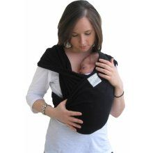 Baby K'tan (~$50): Wears like a wrap without all the intricate tying. Awesome for 0-6 months. Read more at http://www.lucieslist.com/baby-registry-basics/infant-carriers/#ktan