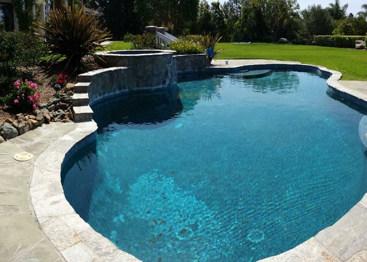 A Gorgeous 25 000 Gallon Swimming Pool That We Just Recycled Swimming Pools Pinterest