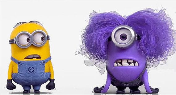 Great Despicable Me Minion Purple minion tshirt by ...