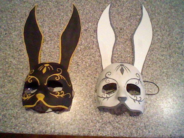 Bioshock-Splicer Masks by ~KittyBirdyCake on deviantART ~ I could maybe use this picture to help me make a cake :3