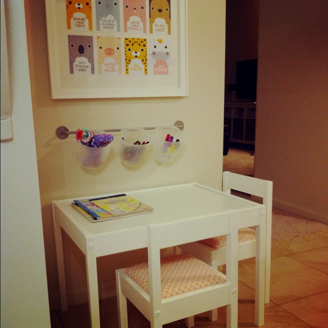 Upholstered Ikea Latt Table And Chairs Inspired By All The