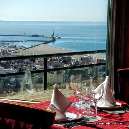 Restaurant vue sur le Havre