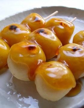 レシピ:みたらし団子。白玉粉と豆腐で作るみたらし団子
