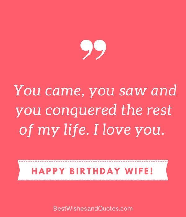 Happy 64 Birthday Quotes: Best 20+ Happy Birthday Wife Quotes Ideas On Pinterest
