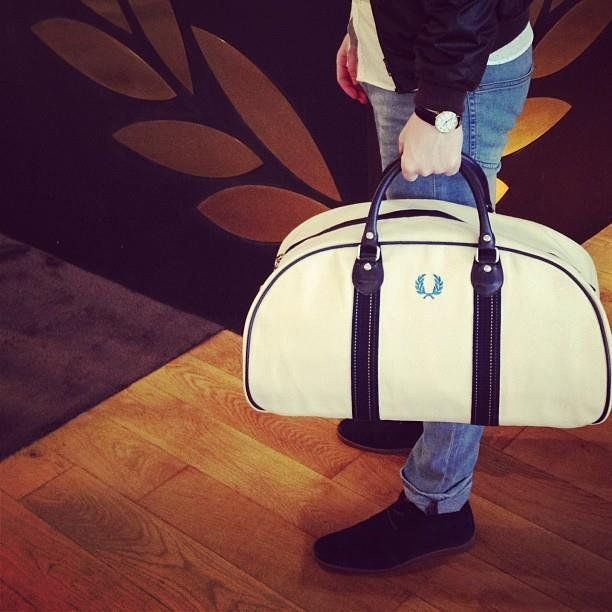 fc3a7dcd74e4 Bradley Kit Bag by Fred Perry. Did you check out our article about Fred  Perry