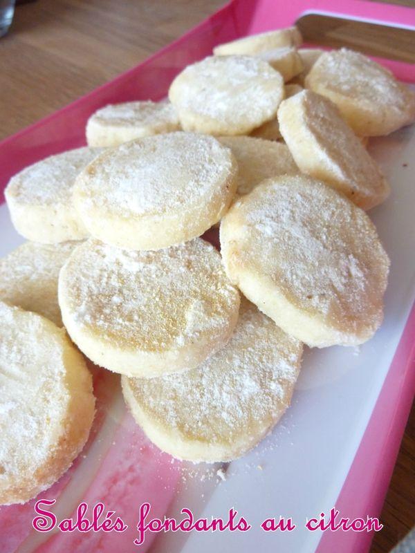 sablés au citron blog recettes Tupperware