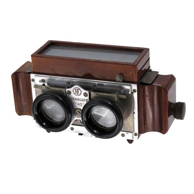 Jules Richard Verascope F40 Stereo Stereoscope Viewer