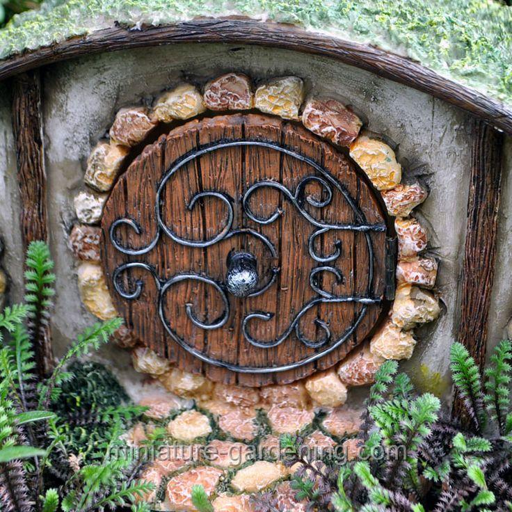 Miniature Gardening - Hobbit House                                                                                                                                                                                 More