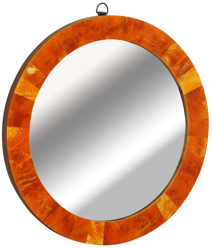 Orange Wall Decor best 20+ orange wall mirrors ideas on pinterest | orange bathroom