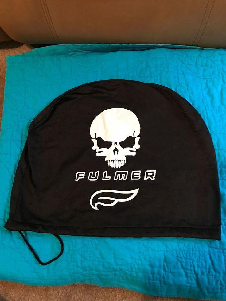 Fulmer Skull Motorcycle Helmet Bag  | eBay
