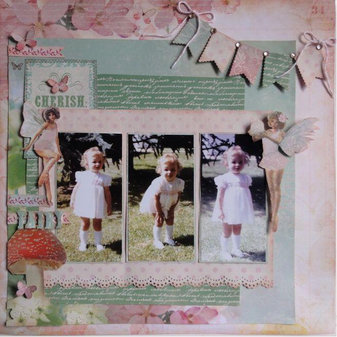 Kaisercraft - Enchanted Garden - Rosslyn Coutts
