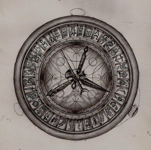 I wish this were real. Alethiometer from His Dark Materials.