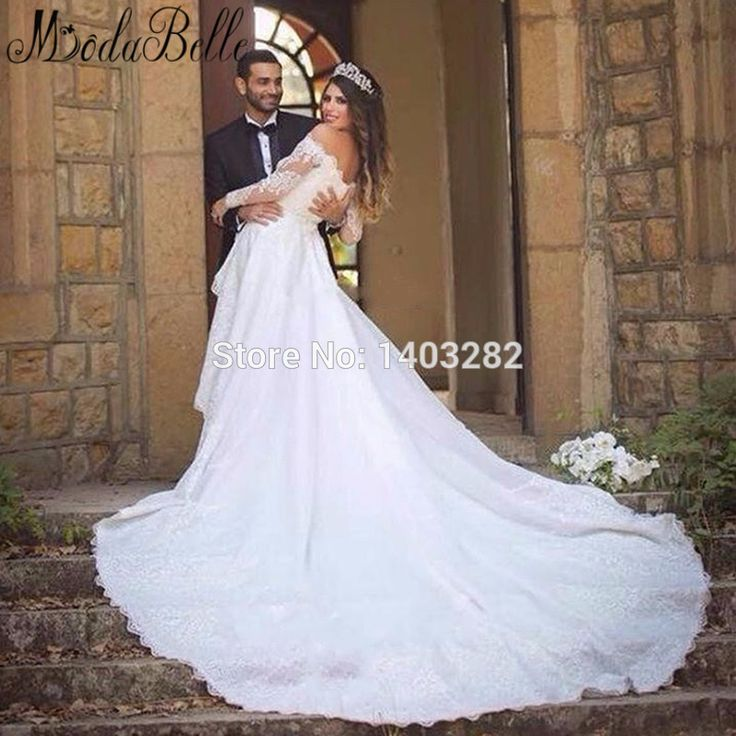 Perfect wedding dresses ruching on sale at reasonable prices buy High Quality Saudi Arabia Brides Dress Modest Lace Wedding Dresses Wedding Bridal Gowns Long