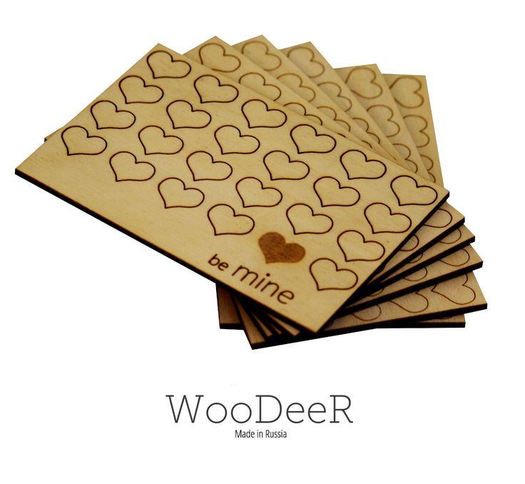 Wooden Postcard (WooDeeR)
