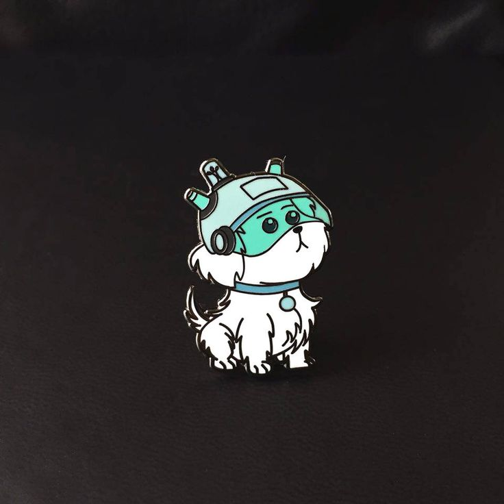 Snuffles Snowball Rick and Morty Enamel Pin (Rick and Morty enamel pin, Rick and Morty pin, Rick and Morty, Dog enamel pin) by ChooplDesigns on Etsy https://www.etsy.com/listing/549671343/snuffles-snowball-rick-and-morty-enamel