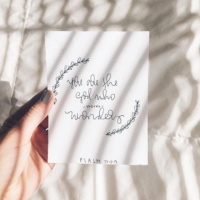 ✧ psalm 77:13-19: daniellieee123 ✧