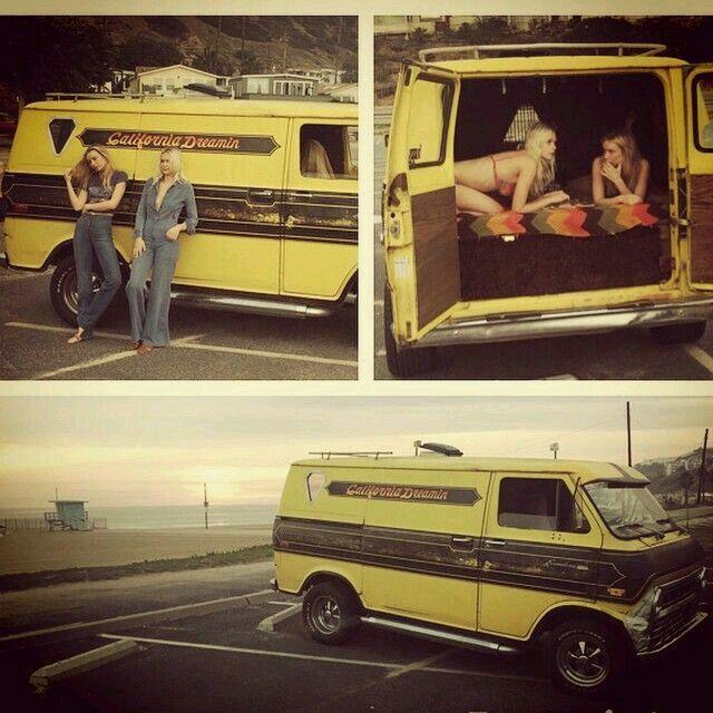 California Dreamin Custom 70s Van Vans Pinterest