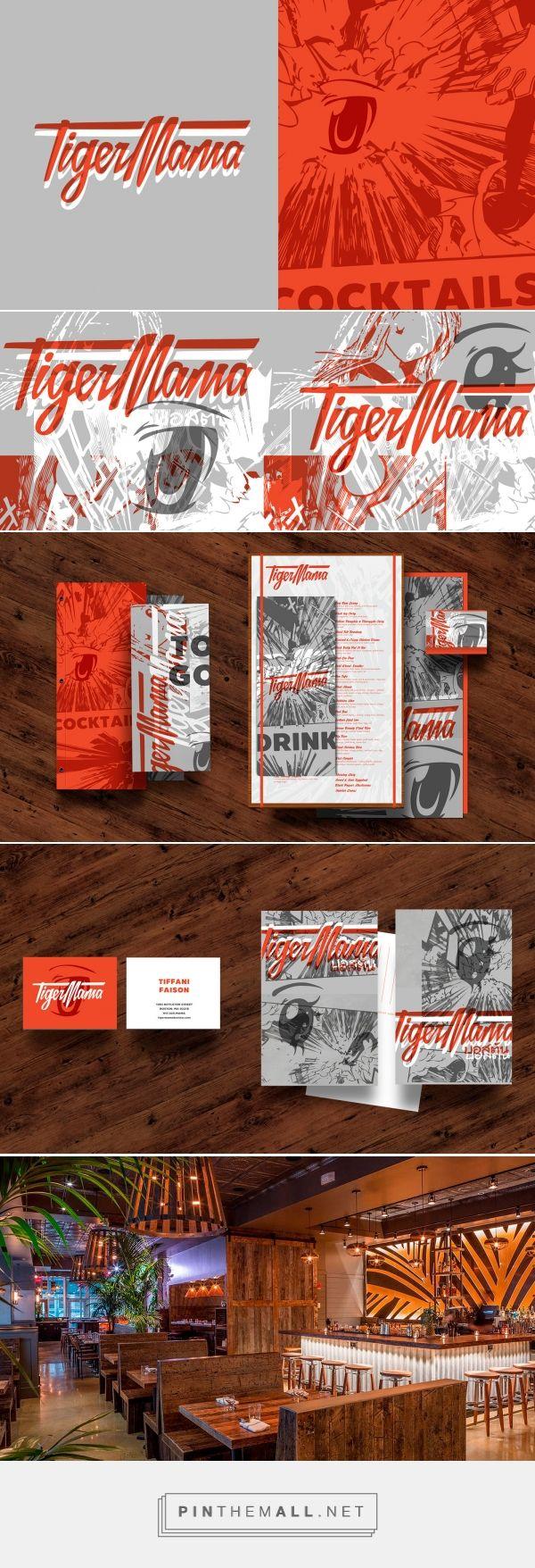 Brand Identity for Tiger Mama Restaurant, Boston, MA on Behance - created via https://pinthemall.net