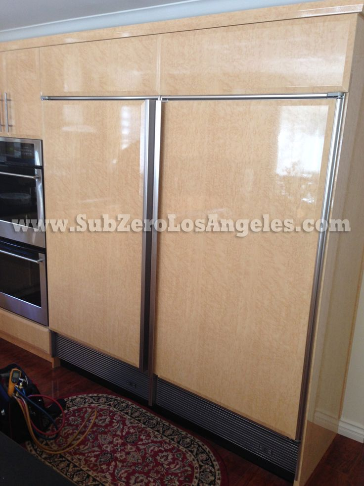 #SubZeroRefrigeration 601R #model Single Door Built In #refrigerator  Serviced Repaired In #Encino