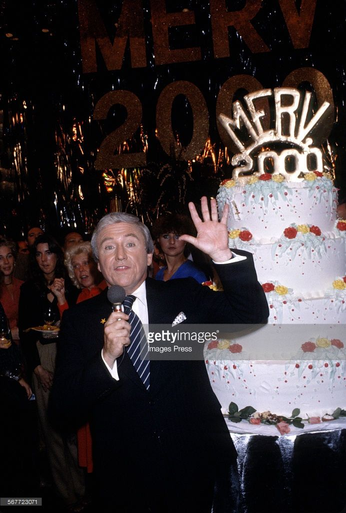 Merv Griffin attends the 2000th Episode of The Merv Griffin Show circa 1979 in New York City.