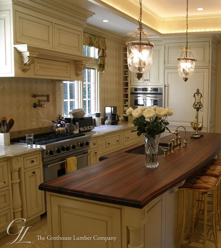 Best Kitchen Countertops: 155 Best Kitchen Islands With Wood Countertops Images On