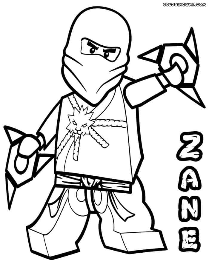 Ninjago Zane Coloring Pages Lego Coloring Pages Lego Coloring Ninjago Coloring Pages