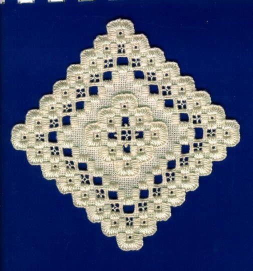 Hardanger embroidery.  My design.  :)