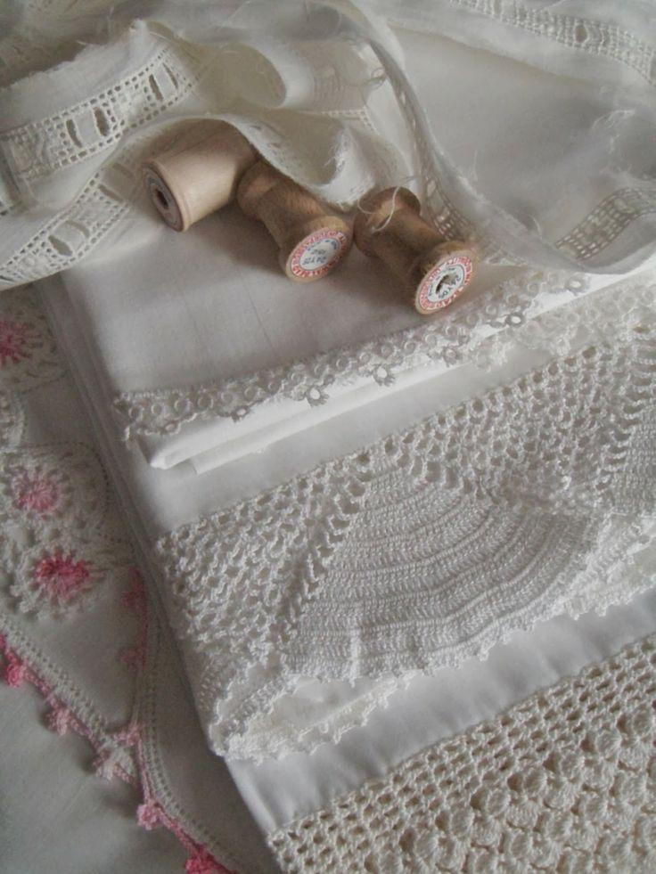 . . . Cabin & Cottage : New Linen Lovelies