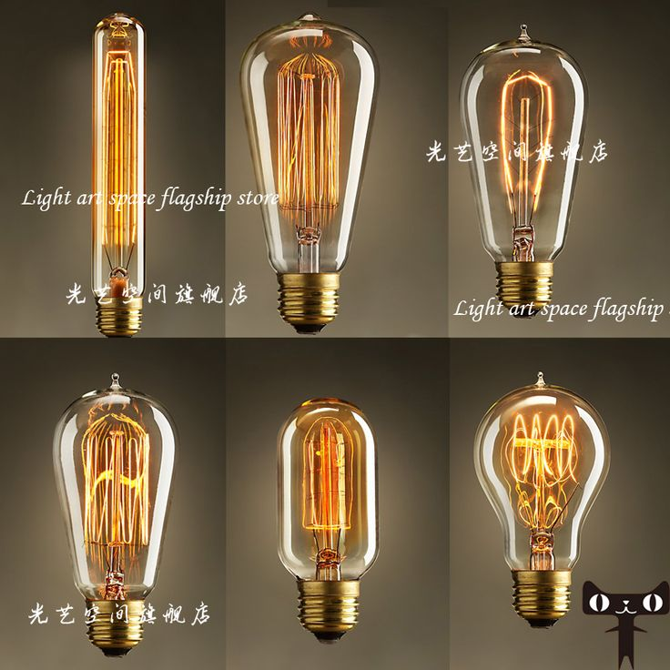 Free Shipping Edison Light Bulb Set Pendant Lamp Vintage