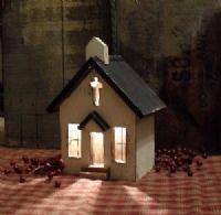 8 best images about church birdhouses on pinterest my birthday bird houses and church - Beths country primitive home decor ideas ...