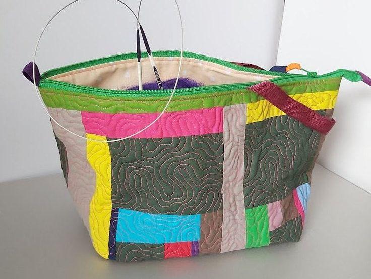 Knitting Project Bag Drawstring Knitting Bag Project Bag For Etsy