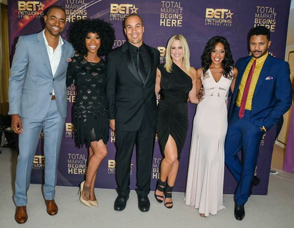 THE GAME Cast - Jay Ellis, Brandy Norwood, Coby Bell, Brittney Daniels, Wendy Raquell Robinson & Hosea Sanchez.