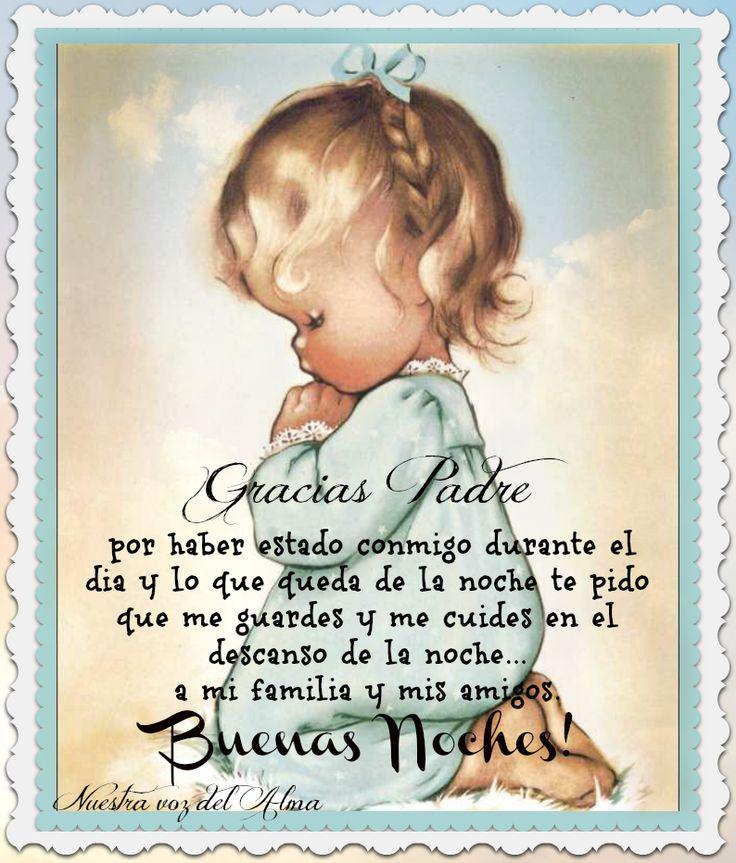 Buenas Noches www.facebook.com/NuestravozdelAlma