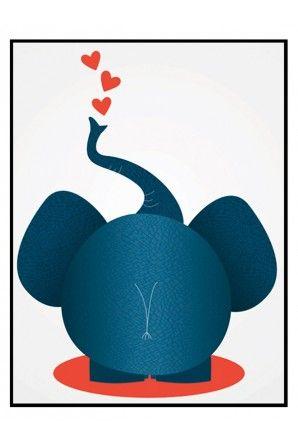 Plakat - Elephant