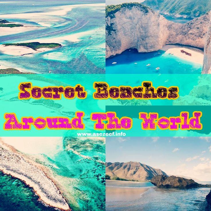 Secret Beaches Around The World 🌏🌏❤❤ – Travel