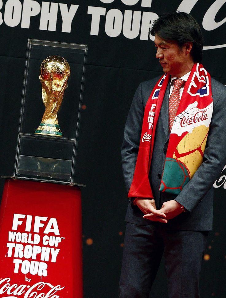 Hong Myung Bo, director técnico de la Selección fútbol de #CoreadelSur. Foto: EFE.