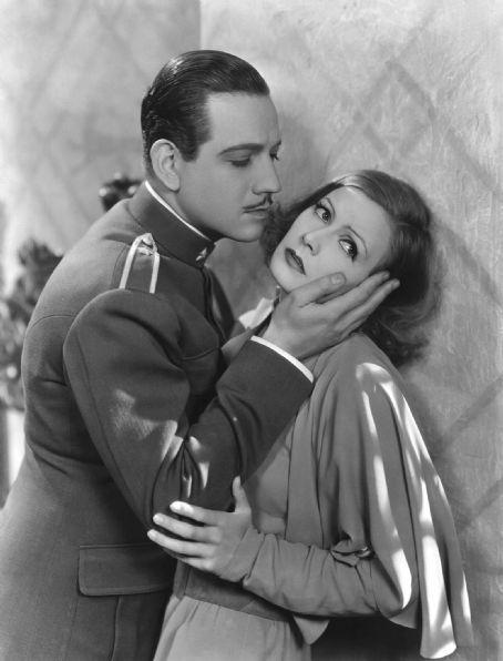Melvyn Douglas and Greta Garbo