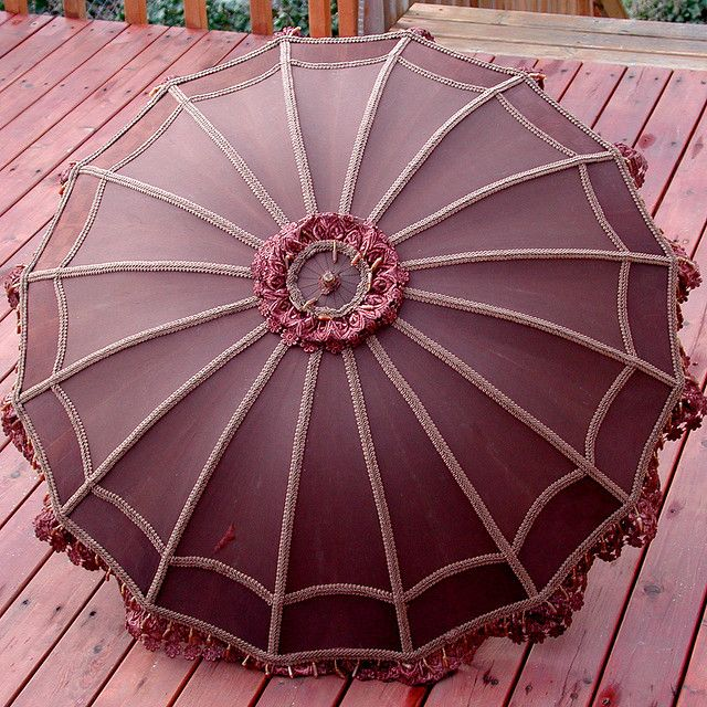 antique parasol