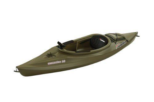 Sun Dolphin Excursion Sit-In Fishing Kayak - http://bassfishingmaniacs.com/?product=sun-dolphin-excursion-sit-in-fishing-kayak