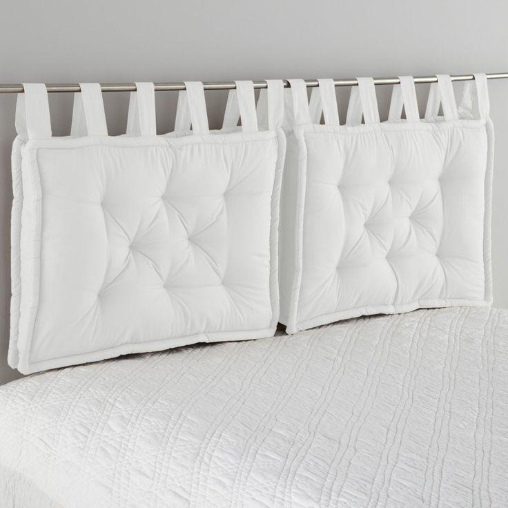 Мягкое изголовье для кровати своими руками: 3 простых способа