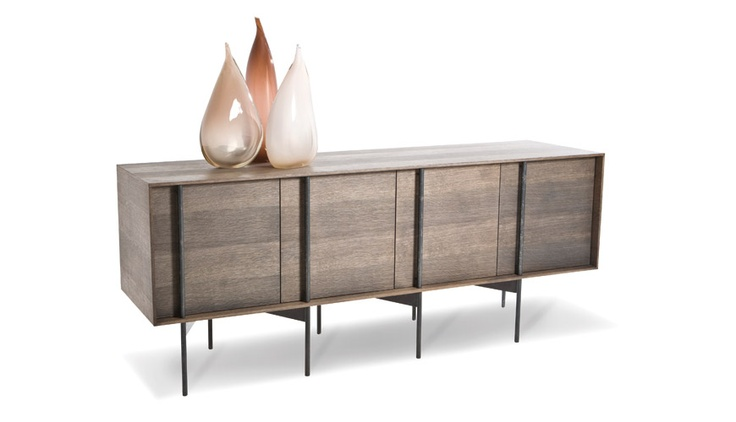 Server (Timber Veneer and Mild Steel) from Tonic