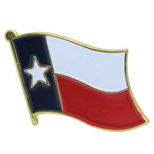US Flag Store Texas Flag Lapel Pin US Flag Store http://smile.amazon.com/dp/B0014CFTZE/ref=cm_sw_r_pi_dp_9wLsub19Y3DZT
