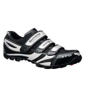 SALE - Shimano SH-M076 Cycle Cleats Mens Black - Was $99.95. BUY Now - ONLY $59.97