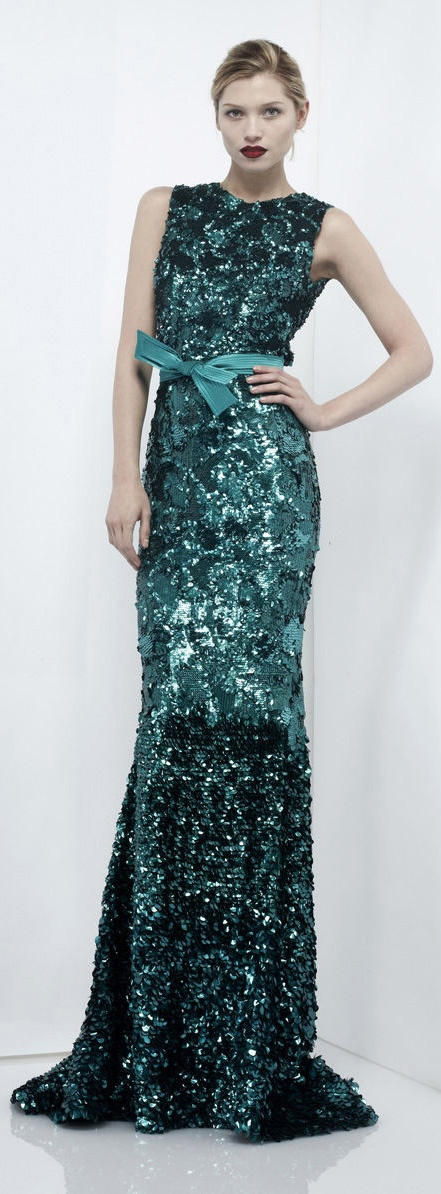 Zuhair Murad - FW 2012-13 - RTW: Ready To Wear, Fashion, Zuhair Murad, Ball Gowns, Style, Clothing, Mermaids Dresses, Emeralds Gowns, Haute Couture