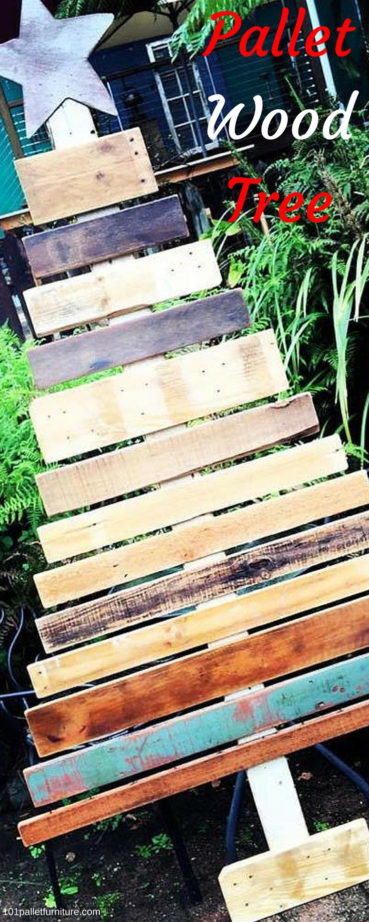 Trees Made from Pallets - 100% Recycled Pallet wood!