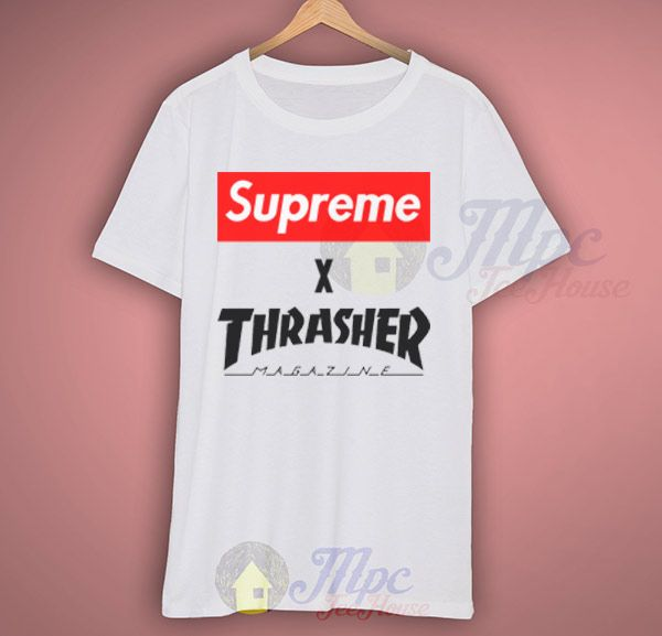Like and Share if you want this  Supreme X Thrasher Collab T Shirt     Supreme X Thrasher Collab T Shirt Available Size S-2Xl.   MPCTeeHouse made and sale premium t shirt gift for him or her. I use only quality shirts such as Fruit of the Loom or Gildan. This tshirt print with the latest in ink to garment technology which is ...    Tag a friend who would love this!     FREE Shipping Worldwide     Get it here ---> https://www.mpcteehouse.com/product/supreme-x-thrasher-collab-t-shirt/    Made…
