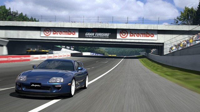 Gran Turismo 5: Toyota Supra RZ by Andy Voong, via Flickr