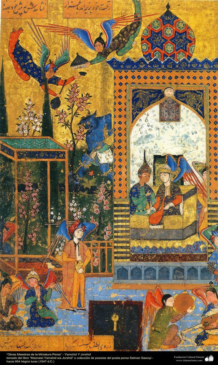 """Maznawi Jamshid wa Khorshid"" - by the persian poet Salman Sawoyi مثنوی جمشید و خورشید، سلمان ساوجی"